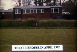 Buxted Park Bowls clubhouse 1982