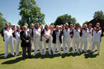 Sussex Vs. Surrey at Buxted Park Bowls Club